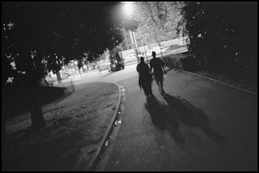 Galerie Photo : Insomnies : Photo Noir et Blanc de nuit, Vanves � Vincent LUC