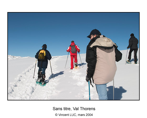 Galerie photo : En raquettes & (a Val Thorens), Photos couleur et noir et blanc � Vincent Luc