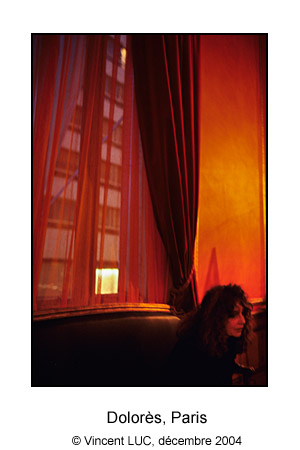 Galerie photo visages et rencontres : Portrait de Dolores Marat, Photo couleur © Vincent LUC